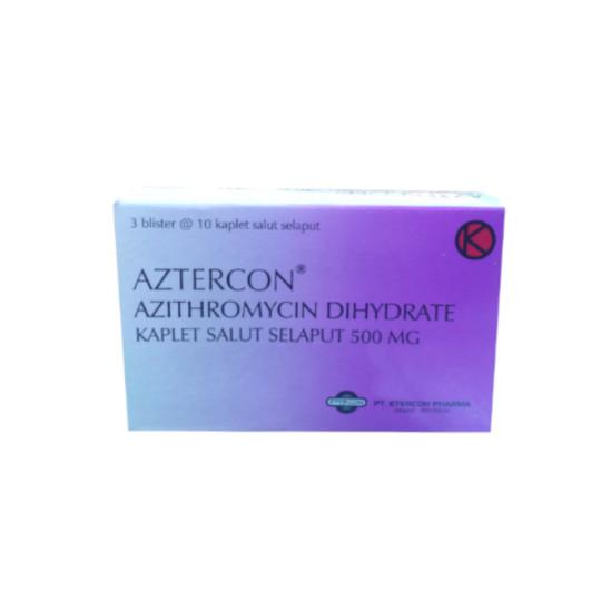 Aztercon Kaplet 500 mg
