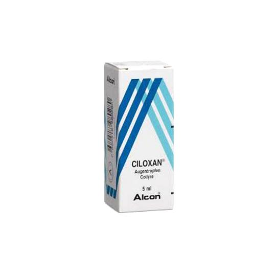 ALCON CILOX 3 MG EYE DROPS 5 ML