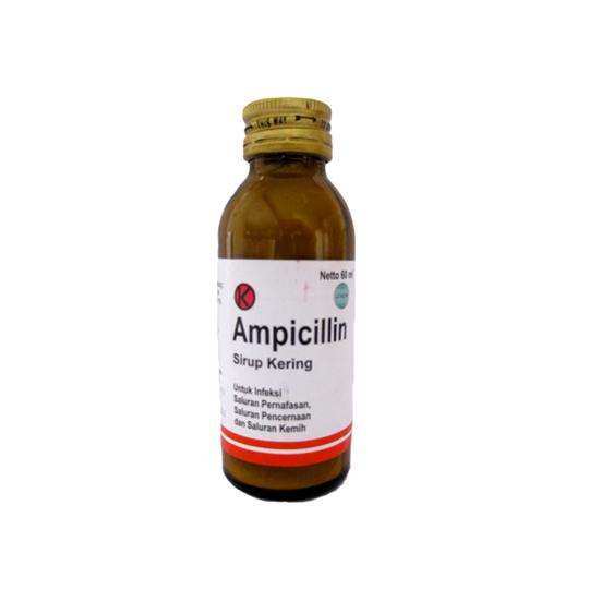 AMPICILLIN SIRUP KERING 60 ML