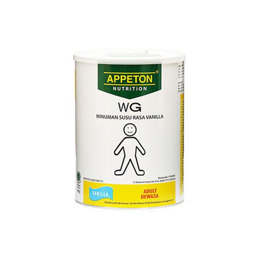 APPETON WEIGHT GAIN ADULT VANILLA 450 G