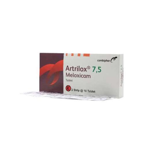 ARTRILOX 7,5 MG 10 TABLET