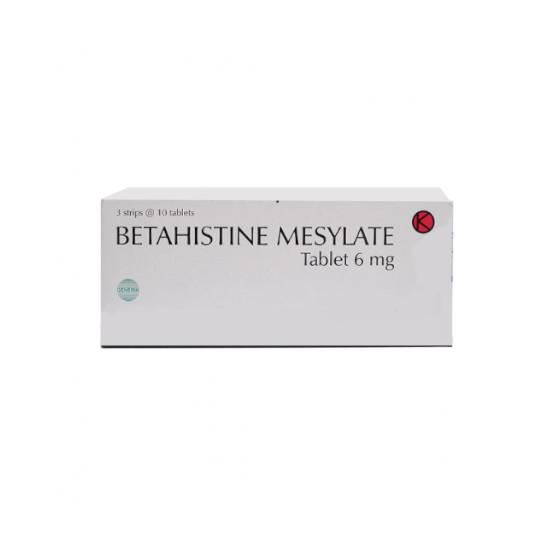 BETAHISTINE 6 MG 10 TABLET