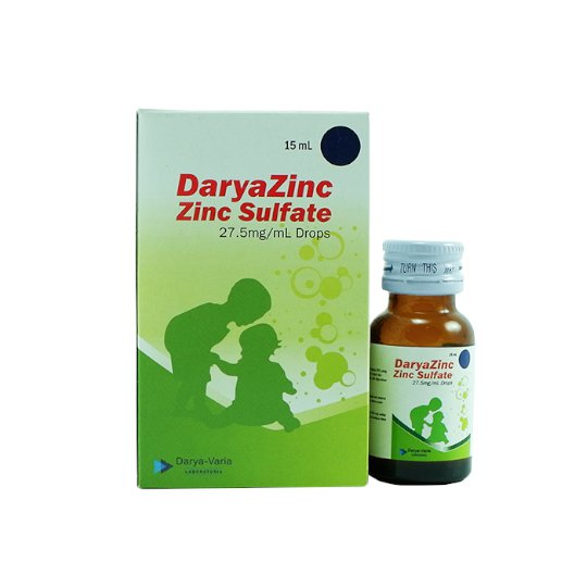 DARYAZINC DROPS 15 ML