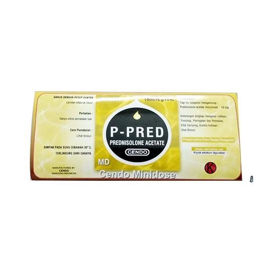 CENDO P-PRED MINIDOSE 0,6 ML 5'S