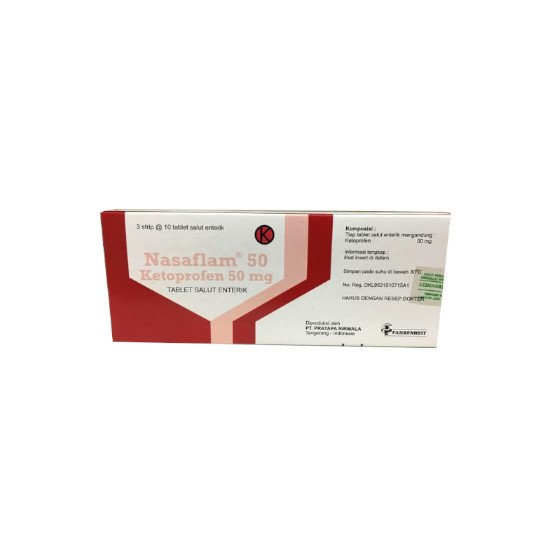 NASAFLAM TABLET 50 MG