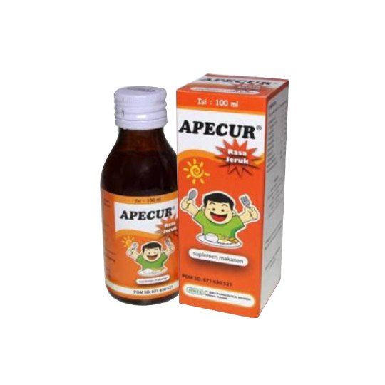 APECUR SIRUP 100 ML