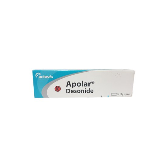 APOLAR 0.5 MG/G CREAM 10 G