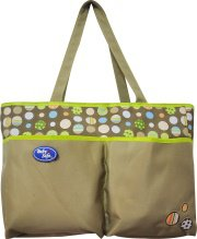 BABY SAFE TWO TONE BAG GREY (BI 25G)