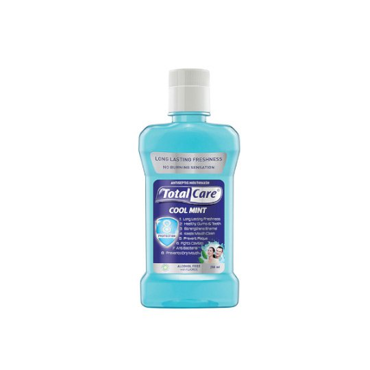TOTAL CARE MOUTHWASH COOL MINT 250 ML