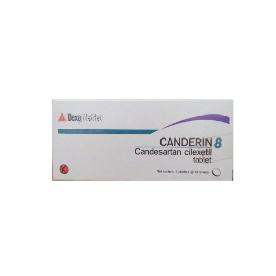 CANDERIN 8 MG 10 TABLET