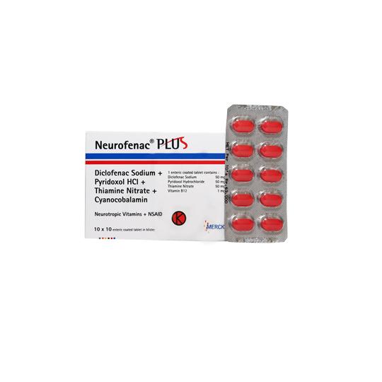 NEUROFENAC PLUS 50 MG 10 TABLET