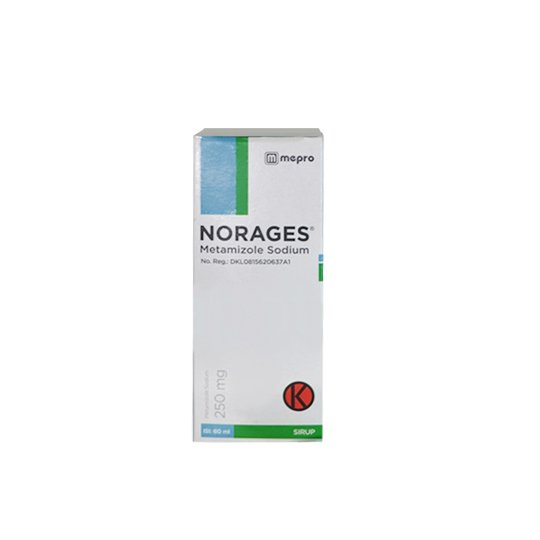 NORAGES SIRUP 250 MG/5 ML 60 ML