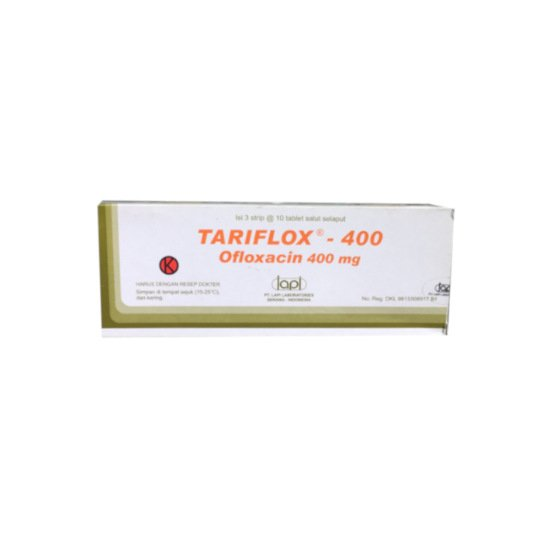 TARIFLOX 400 MG 10 TABLET