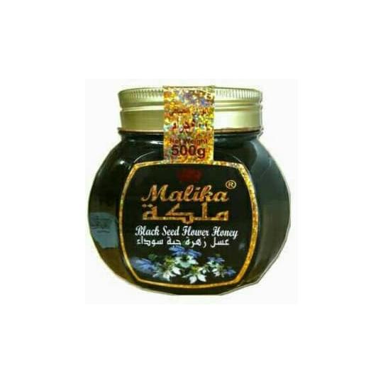 MALIKA BLACK SEED FLOWER HONEY 500 GR