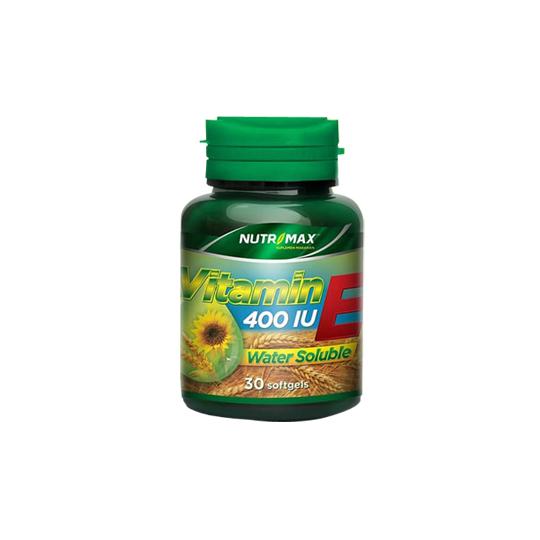 NUTRIMAX WATER SOLUBLE VITAMIN E 30 KAPSUL LUNAK