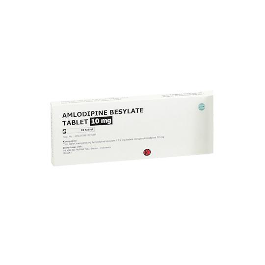 Amlodipine 10 MG 10 TABLET