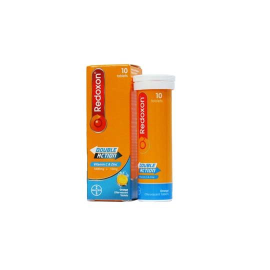 Redoxon Double Action Effervescent 10 Tablet