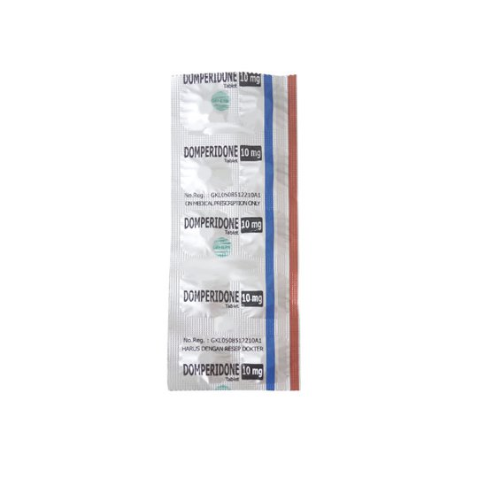 DOMPERIDONE 10 MG 10 TABLET