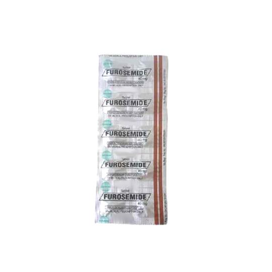 FUROSEMIDE 40 MG 10 TABLET
