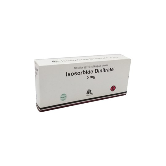 ISOSORBID DINITRAT 5 MG 10 TABLET