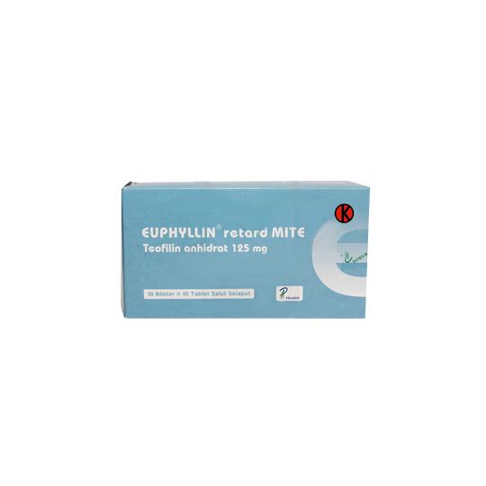 EUPHYLLIN RETARD MITE 125 MG 10 TABLET