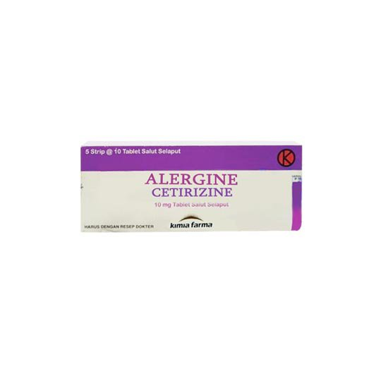 ALERGINE 10 MG 10 TABLET
