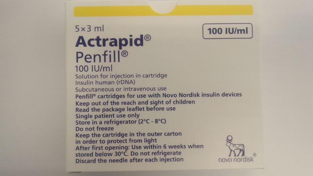 ACTRAPID PENFILL