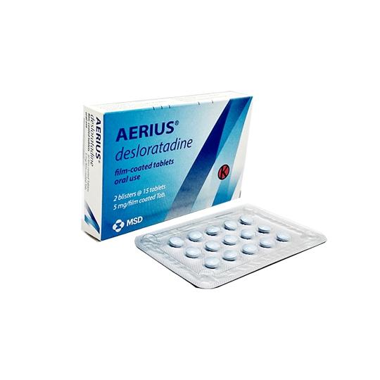 AERIUS 5MG 15 TABLET