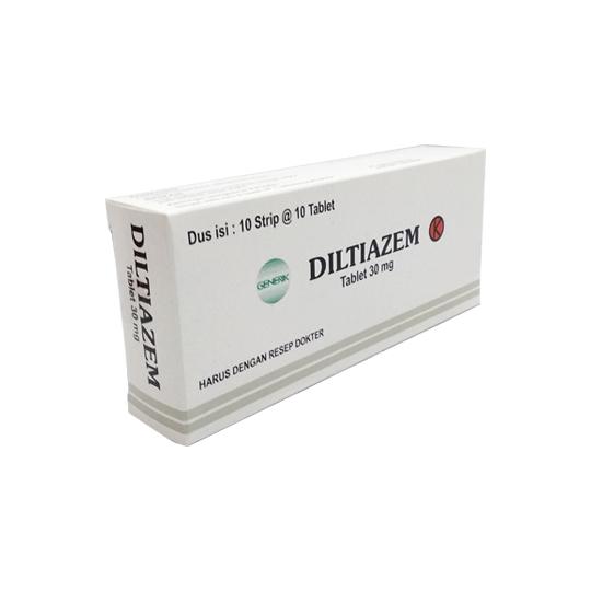 DILTIAZEM 30 MG 10 TABLET