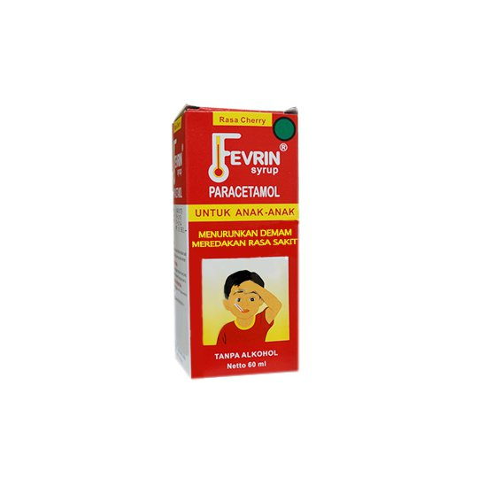 FEVRIN SIRUP 60 ML