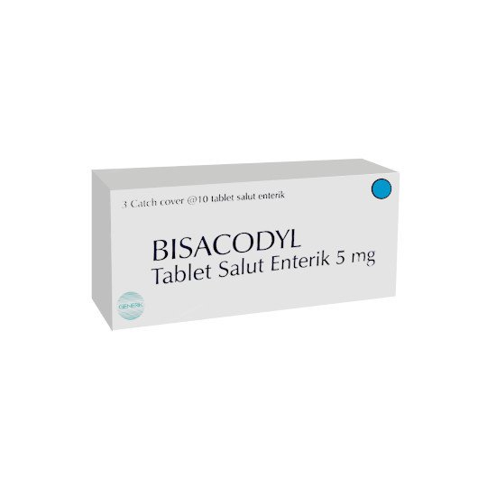 BISACODYL 5 MG 10 TABLET