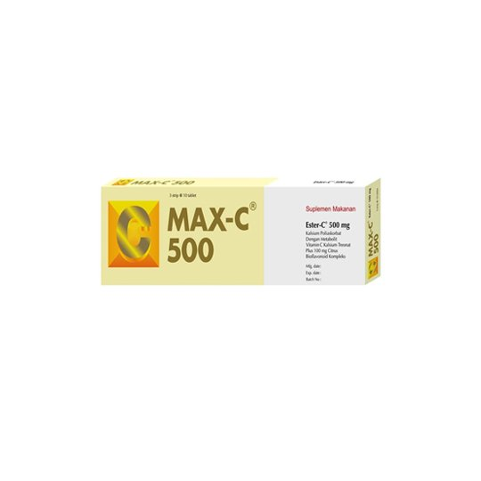 MAX-C 500 MG 30 TABLET