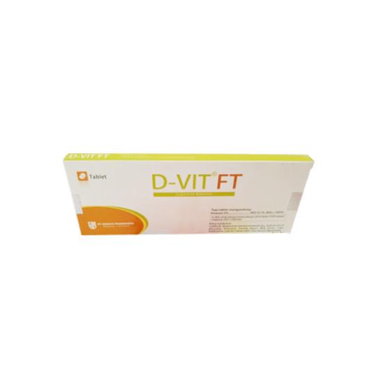 D-VIT 400 IU 30 TABLET - OBAT RUTIN