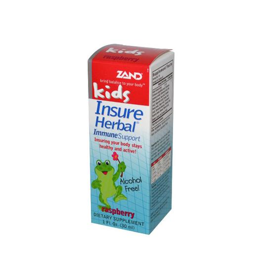 ZAND KIDS INSURE HERB RASP 1OZ