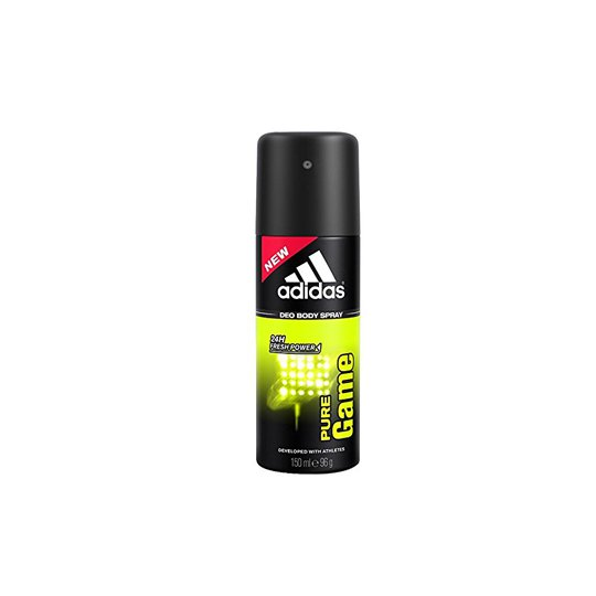 ADIDAS MEN 3 IN 1 PURE GAME RELAXING DEO BODY SPRAY 150 ML
