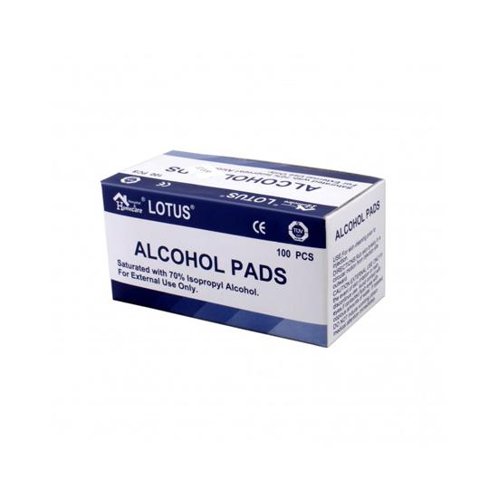 ALCOHOL SWAB LOTUS 100'S