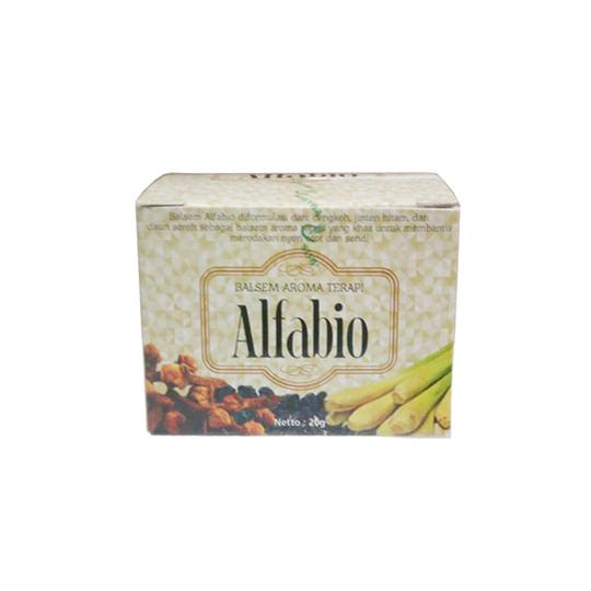 ALFABIO BALSEM AROMA TERAPI 20 G