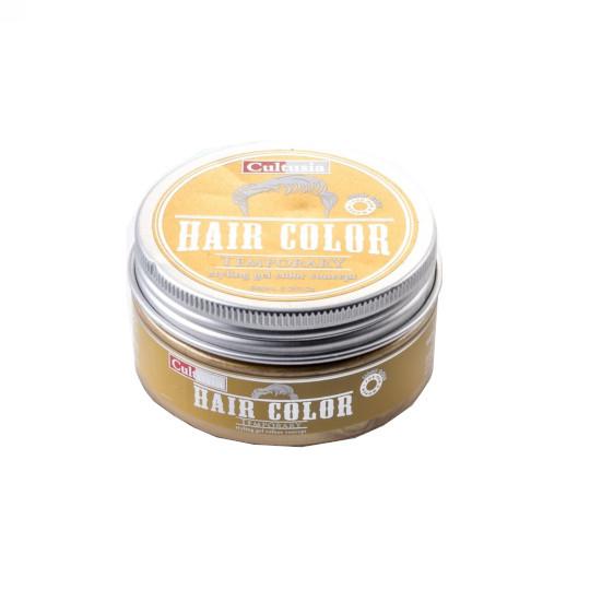 CULTUSIA HAIR COLOUR STYLING GEL TEMPORARY LIGHT GOLD 80 ML