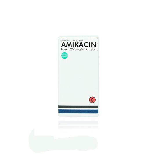 AMIKACIN 250 MG 12.5 % 2 ML VIAL