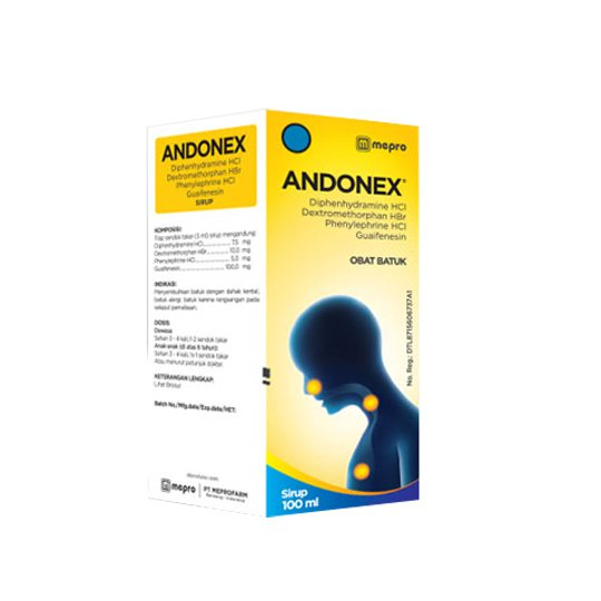 ANDONEX SYRUP 100 ML