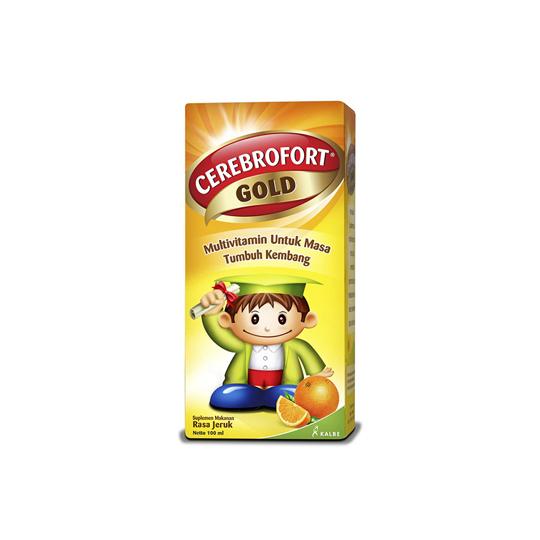CEREBROFORT GOLD ORANGE SYRUP 100 ML