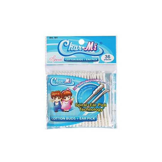 CHARMI EAR PICK REFILL 36 PCS