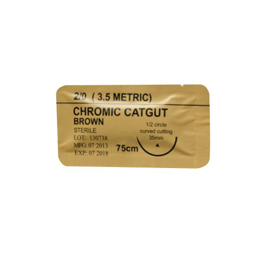 CHROMIC CATGUT 3,5 METRIC