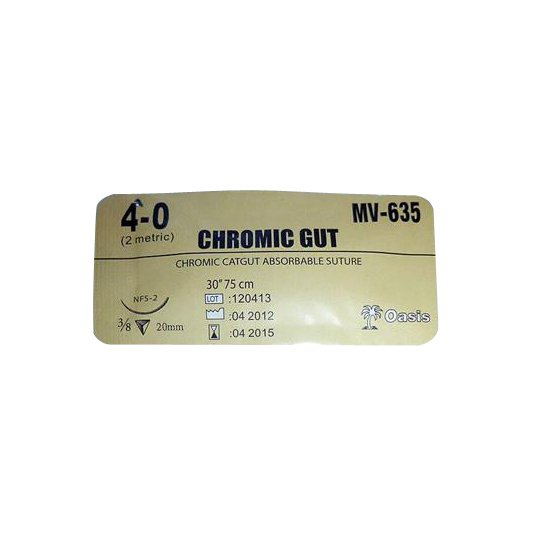 CHROMIC CATGUT 4 METRIC