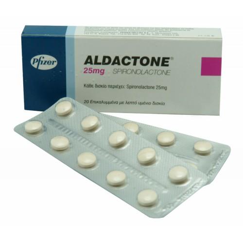 ALDACTONE 25 MG 10 TABLET