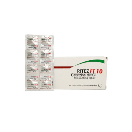 RITEZ 10 MG 10 TABLET