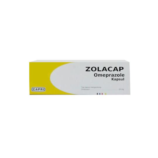 ZOLACAP 20 MG 10 KAPSUL