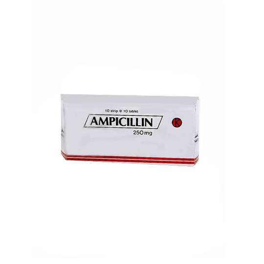 AMPICILLIN 250 MG 10 TABLET