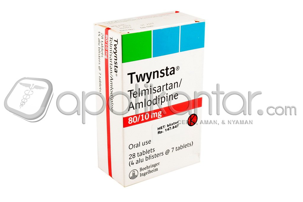 TWYNSTA TABLET 80 MG/10 MG