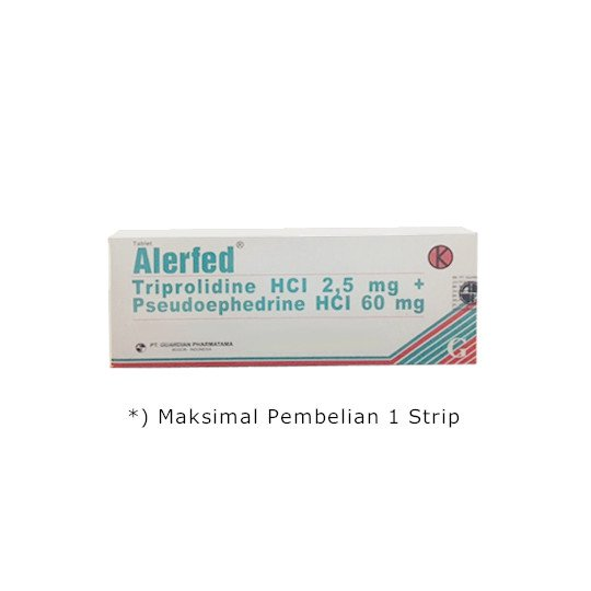 ALERFED 10 TABLET